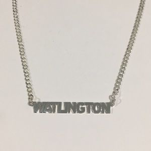Jewelry - Sterling Silver Watlington Nameplate Necklace